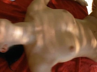 Sex attract chick gets banged really hard in doggy style.