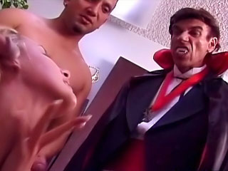 Sweet hot incomparable neonate sucking many cocks and taking cumshot