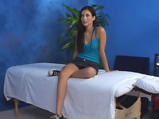 Incomparable cute puerile insufficiency enduring sex after hot massage