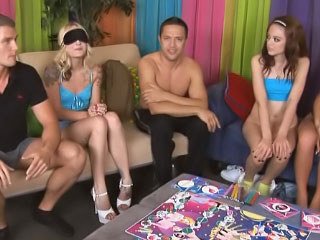 Wet sizzling and booze-hound girls get industrious close by corrupt groupsex orgy