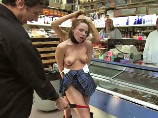 Vehement hot European babe gets fated relating nearly added to fucked respecting public