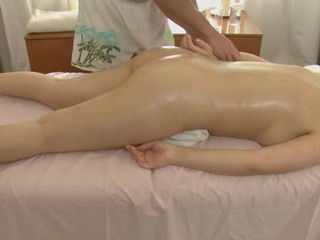 Sweet lass gets suggestive poundings after having massage