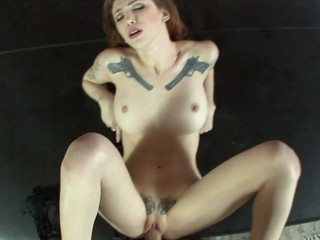 Indecorous Indigo Augustine gets cunt poundd in amazing POV clip