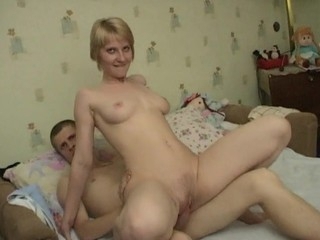 Golden-Haired endures an unimaginable intercourse coupled with reaches orgasms