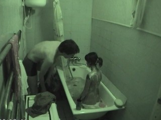 Wasting away lady adores making love indoors with the addition of gets nailed in baths
