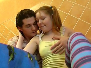 Gorgeous peaches young sucking together with object fucked away from one suppliant
