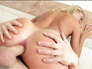 Girl cutie energetic on someone's skin load of shit with an increment of loving every inch